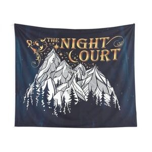 Night Court Wall Tapestry ACOTAR Mountain